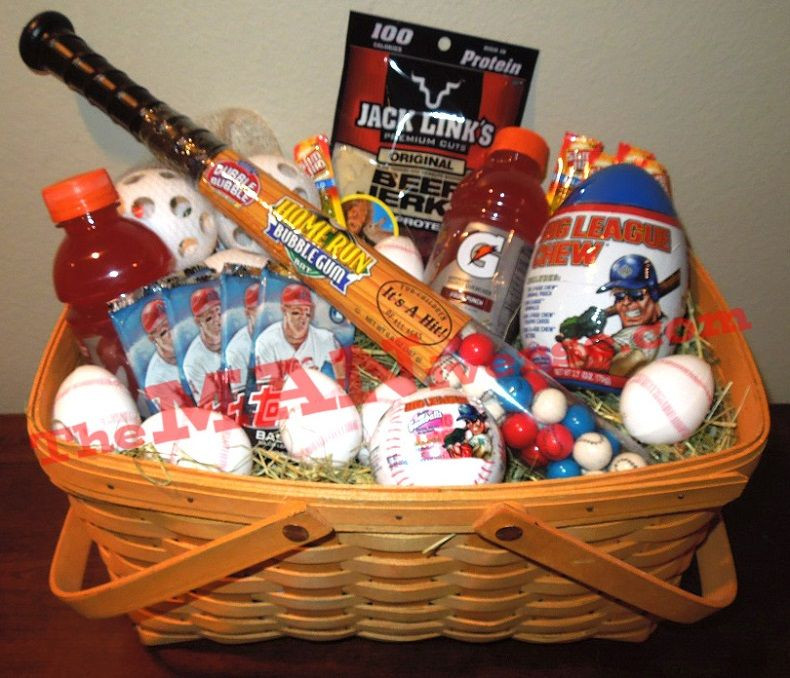Best ideas about Gift Basket Ideas For Boys . Save or Pin Not your traditional Easter basket LOVE this for any Now.