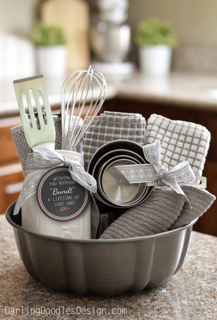 Best ideas about Gift Basket Ideas . Save or Pin This Post is Nothing Bundt Adorable Darling Doodles Now.