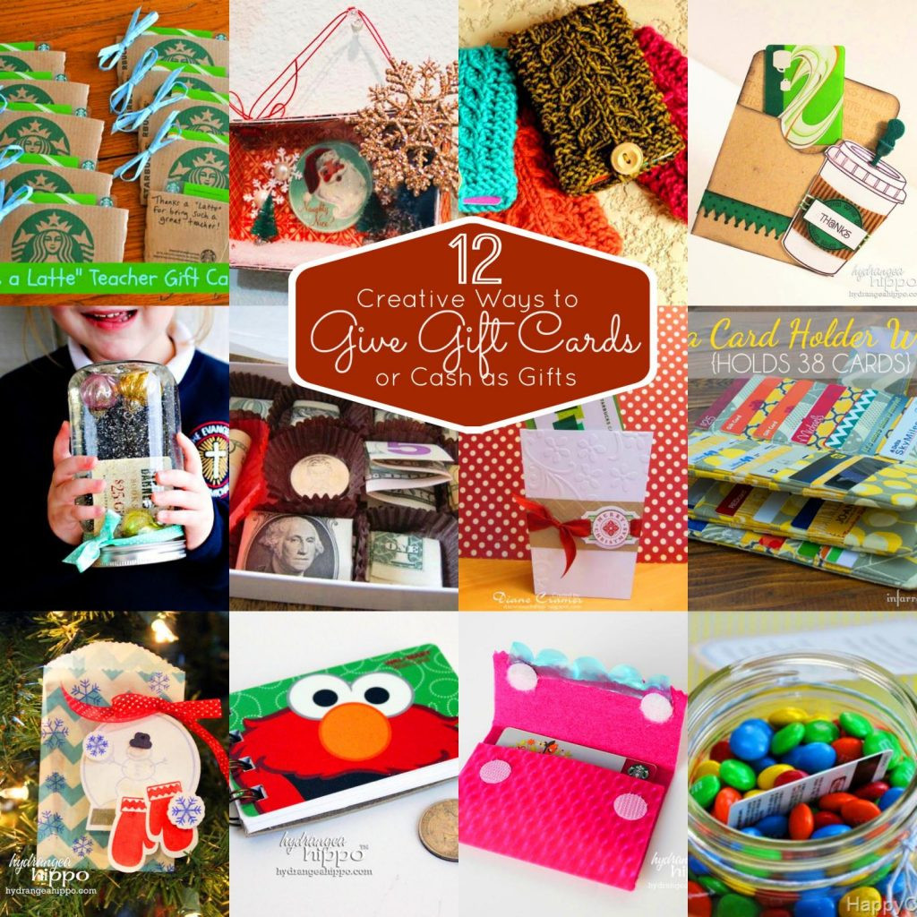Best ideas about Gift Card Gift Ideas . Save or Pin 12 Unique Ways To Give Gift Cards Now.