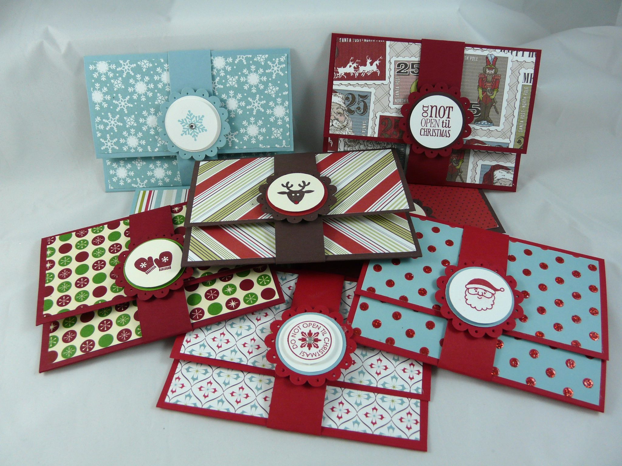 Best ideas about Gift Card Holder Ideas . Save or Pin I Stamped That Super Easy Gift Card Holders Now.