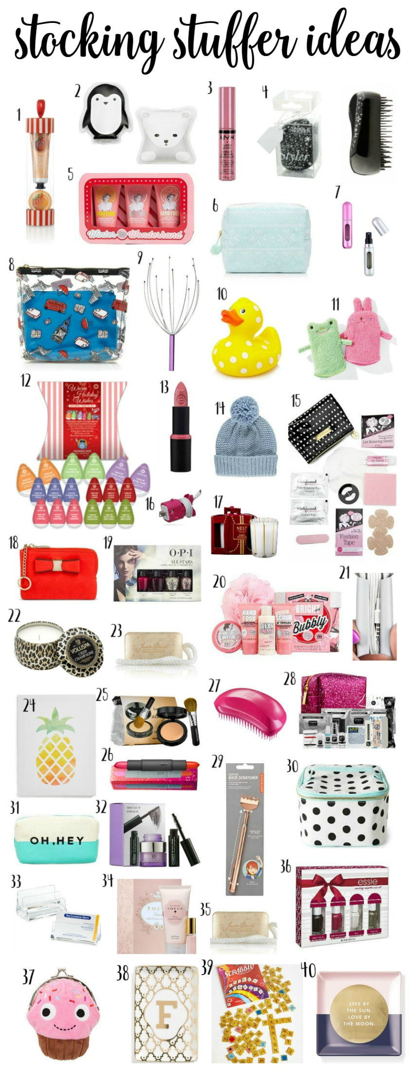 Best ideas about Gift Exchange Ideas $50 . Save or Pin Christmas Stocking Stuffer Ideas Now.