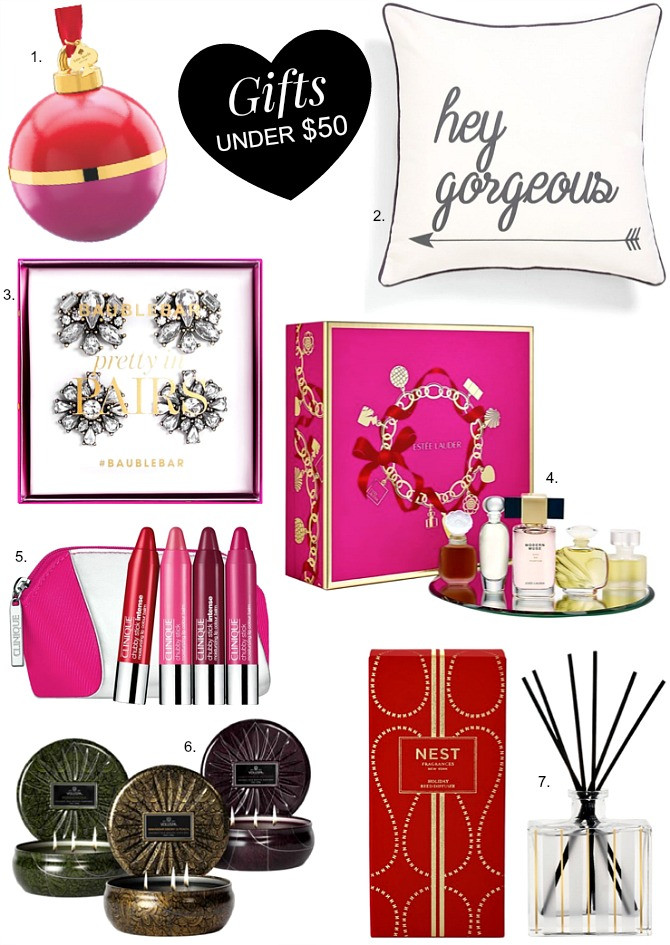 Best ideas about Gift Exchange Ideas $50 . Save or Pin Christmas Guide Good Gift Ideas Under $50 Now.