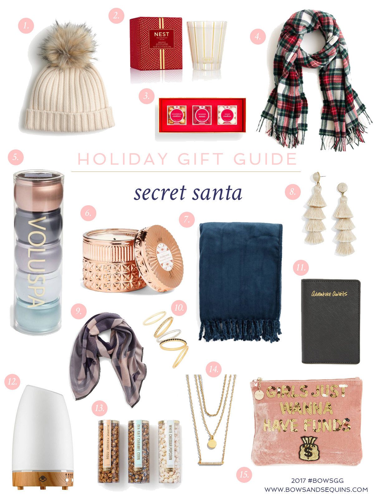 Best ideas about Gift Exchange Ideas $50 . Save or Pin Gift Guide 13 Secret Santa & White Elephant Gifts — bows Now.