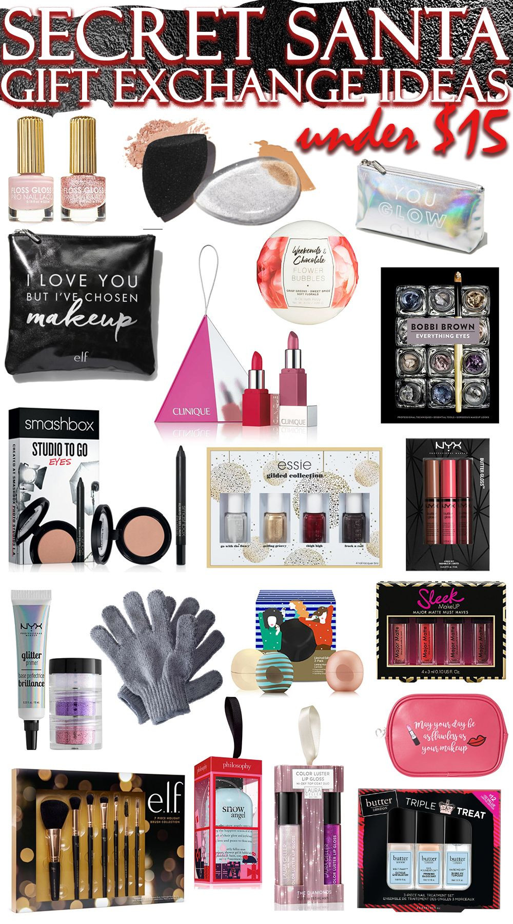 Best ideas about Gift Exchange Ideas $50 . Save or Pin The Best Secret Santa Gift Exchange Ideas in Beauty & ALL Now.