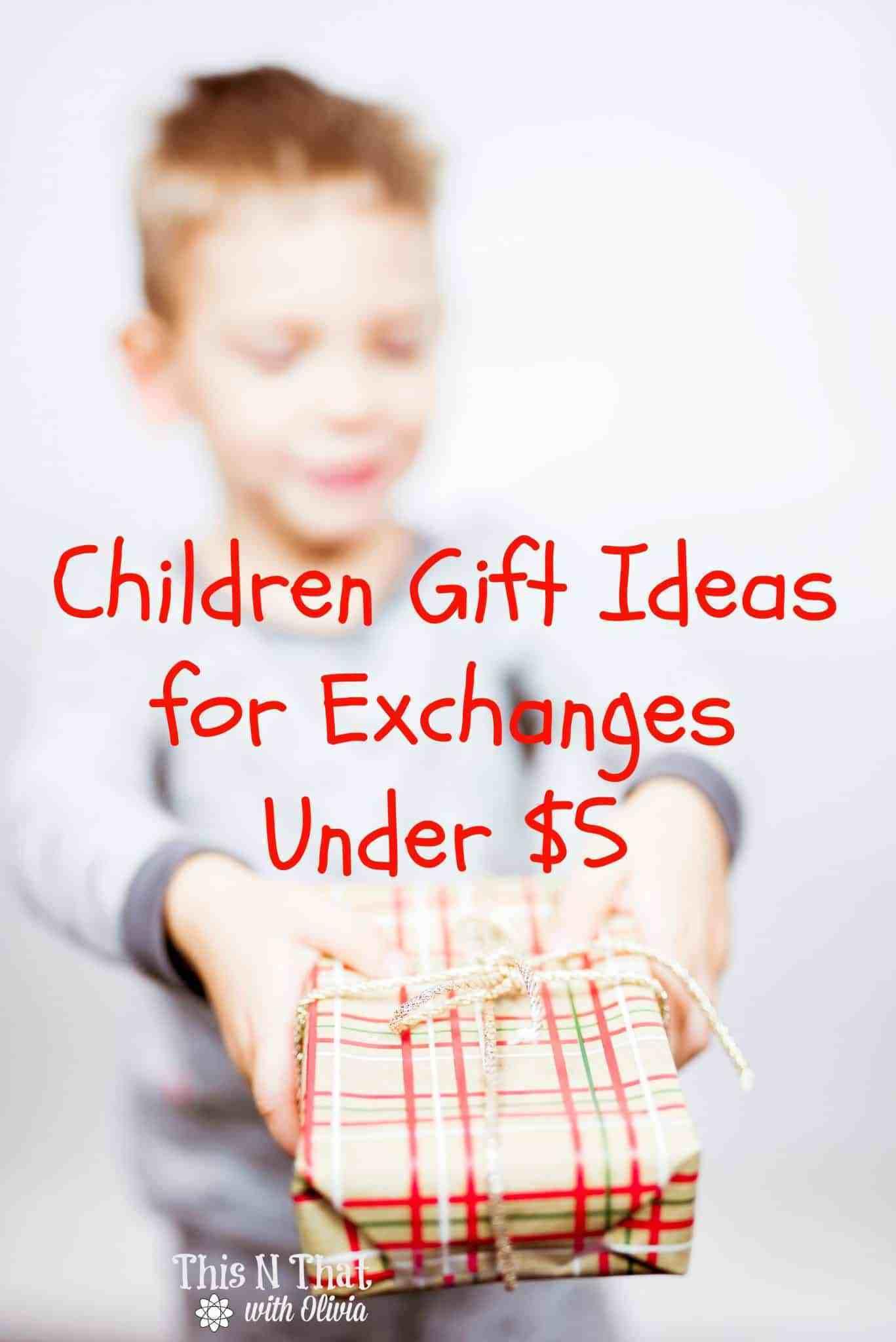 Best ideas about Gift Exchange Ideas For Kids . Save or Pin Children s Gift Exchange Ideas Gift Exchange Children Now.