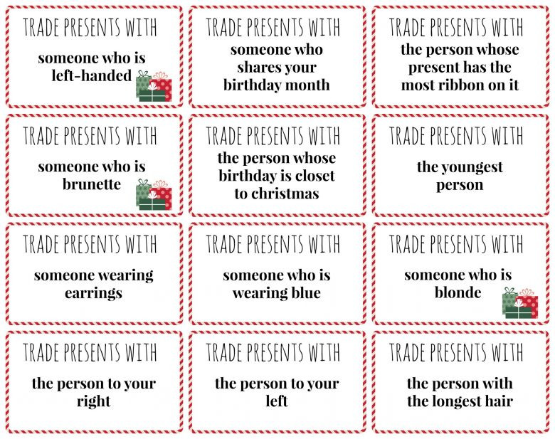 Best ideas about Gift Exchange Ideas For Kids . Save or Pin white elephant ts round 2 and some game ideas Now.