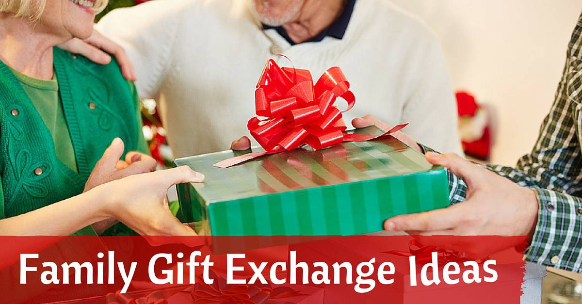 Best ideas about Gift Exchange Ideas For Large Family . Save or Pin 8 Fun Family Gift Exchange Ideas White Elephant Rules Now.