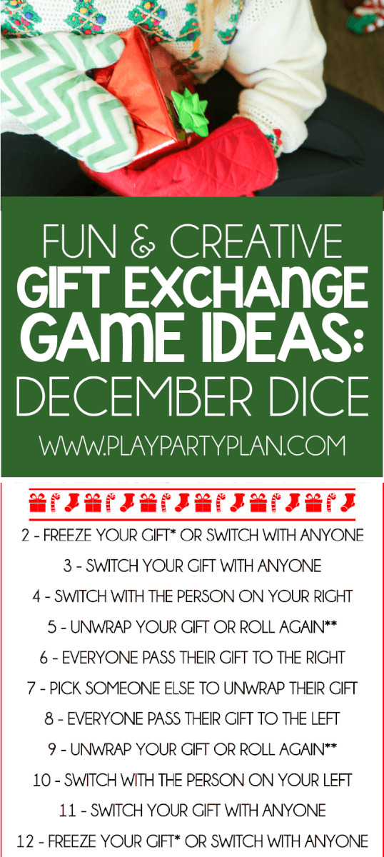 Best ideas about Gift Exchange Ideas For Large Family . Save or Pin 5 Creative Gift Exchange Games You Absolutely Have to Play Now.