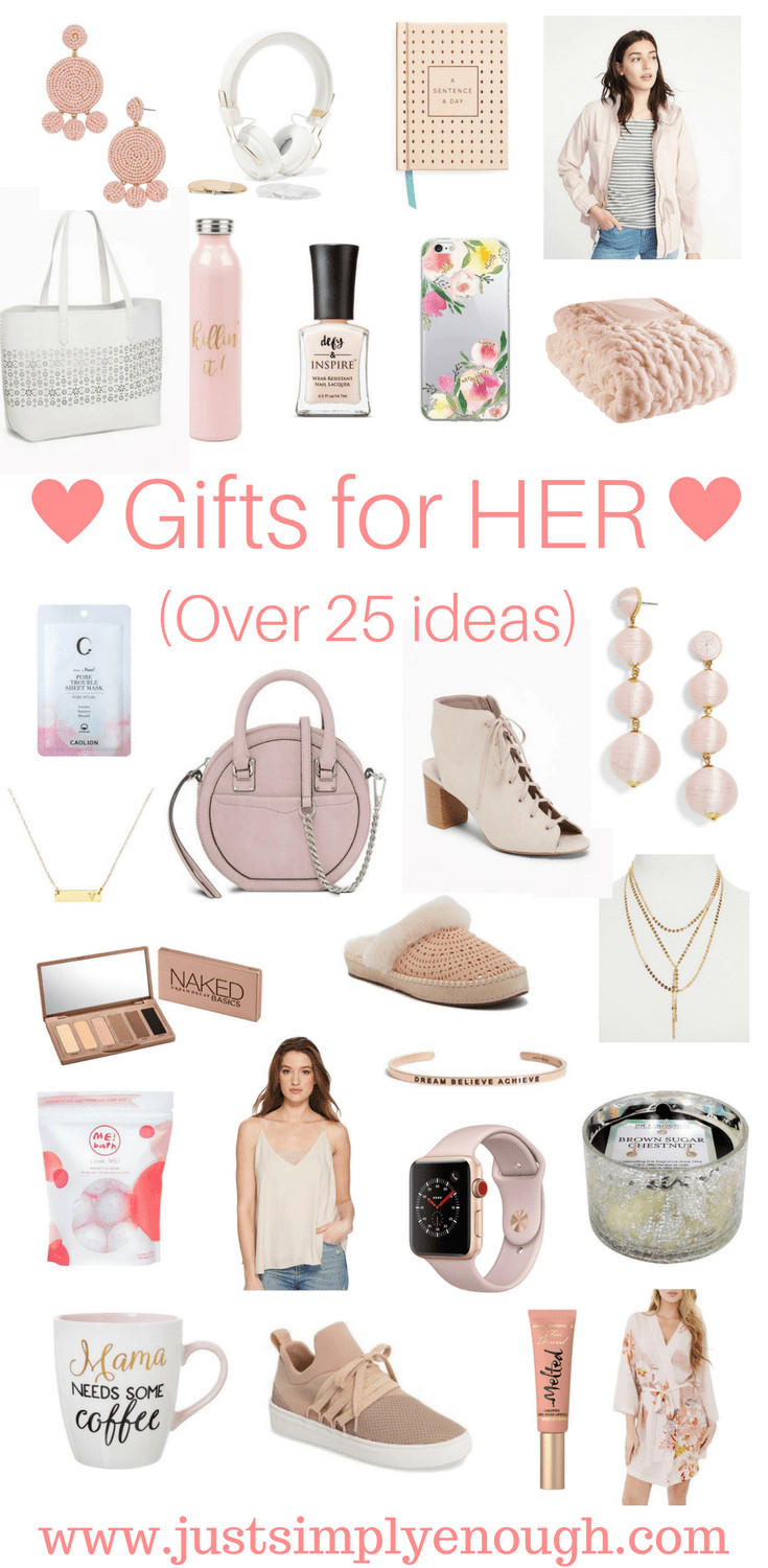 Best ideas about Gift For Her Ideas . Save or Pin Gifts for HER Over 25 Ideas Just Simply Enough Now.