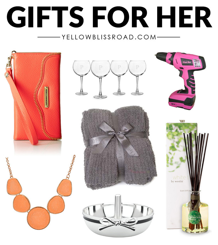 Best ideas about Gift For Her Ideas . Save or Pin Christmas Gift Ideas for Her Gifts for Women Now.