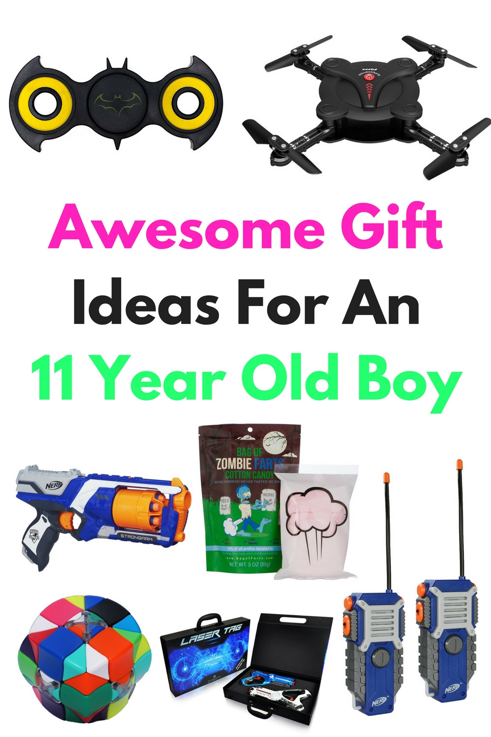 Best ideas about Gift Ideas 11 Year Old Boy . Save or Pin Awesome Gift Ideas For An 11 Year Old Boy Now.