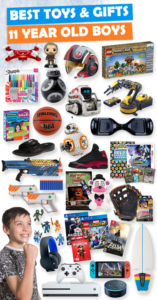 Best ideas about Gift Ideas 11 Year Old Boy . Save or Pin Gifts For 11 Year Old Boys 2018 Now.