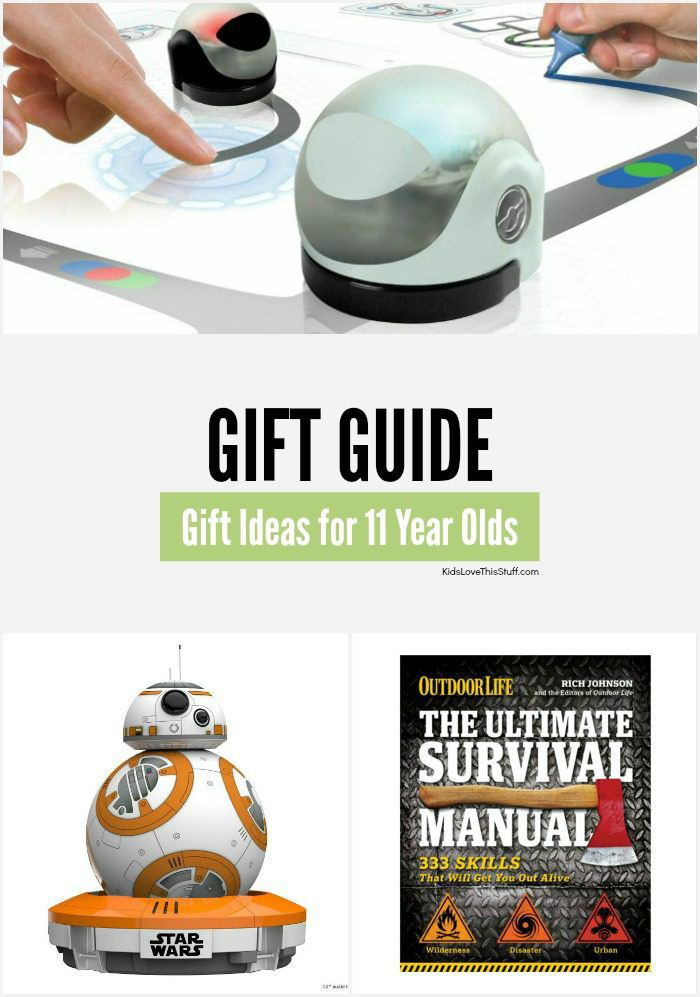 Best ideas about Gift Ideas 11 Year Old Boy . Save or Pin 20 Cool Birthday and Christmas Gift Ideas for 11 Year Old Boys Now.