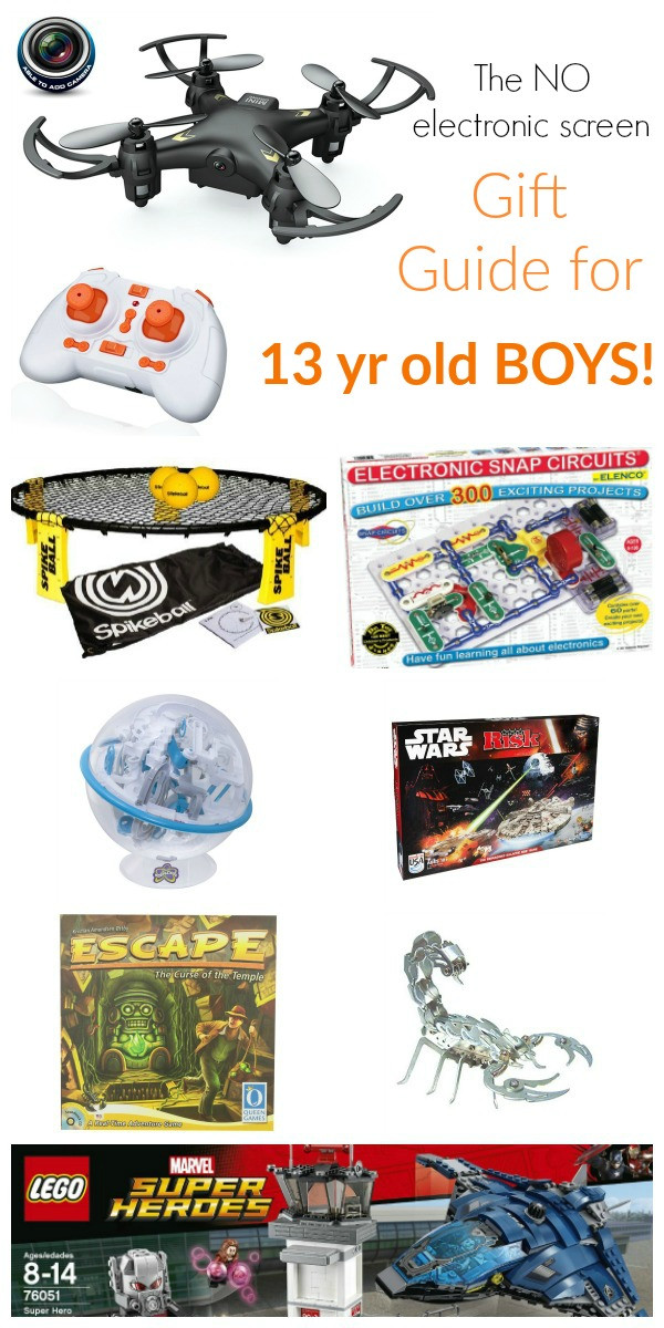Best ideas about Gift Ideas 13 Year Old Boy . Save or Pin Review by Lisa Jorgensen Now.