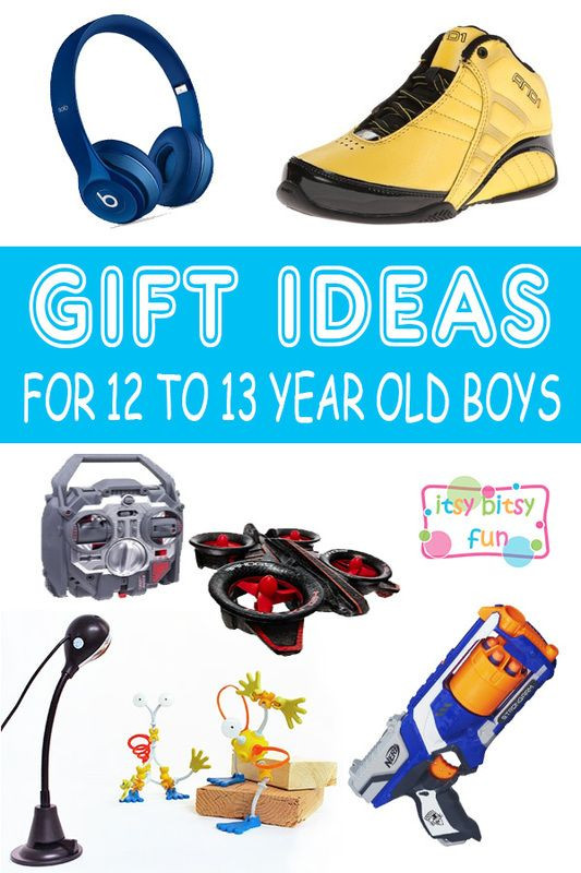 Best ideas about Gift Ideas 13 Year Old Boy . Save or Pin Best Gifts for 12 Year Old Boys in 2017 Now.