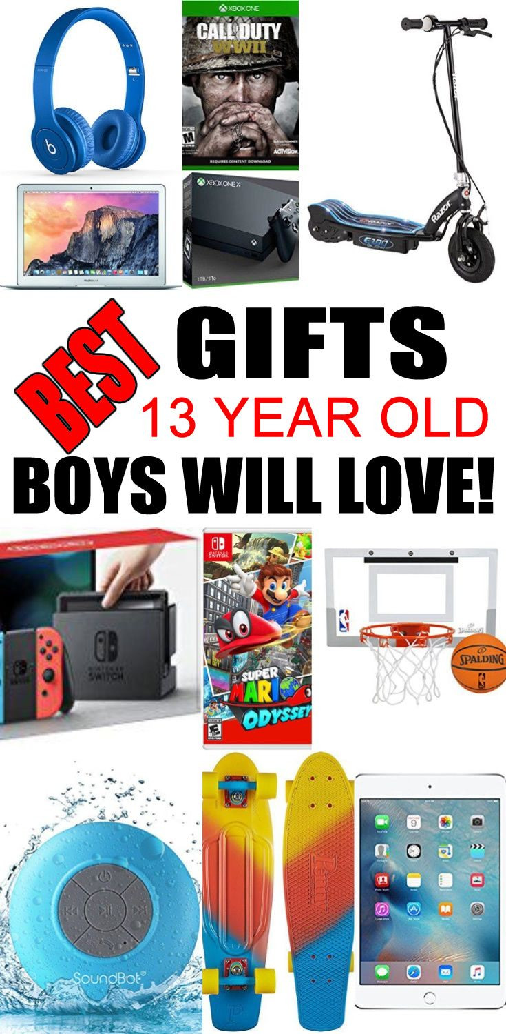 Best ideas about Gift Ideas 13 Year Old Boy . Save or Pin Best Toys for 13 Year Old Boys Now.