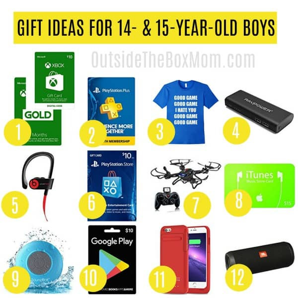 Best ideas about Gift Ideas 15 Year Old Boy . Save or Pin The Best Gift Ideas for 15 Year Old Boys That Also Make Now.