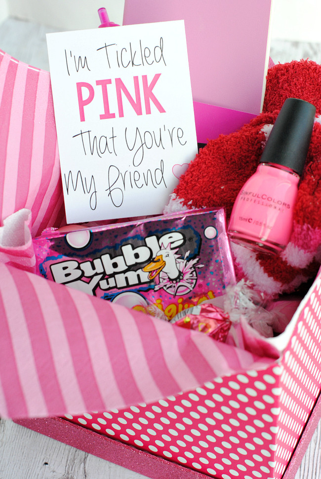 Best ideas about Gift Ideas Best Friend . Save or Pin Cute Gifts for Friends for Any Occasion – Fun Squared Now.