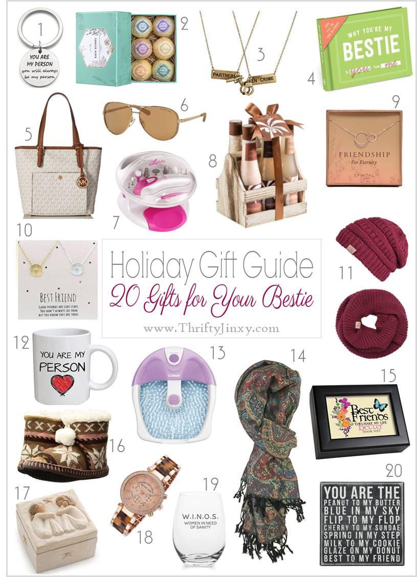 Best ideas about Gift Ideas Best Friend . Save or Pin Best Friend Gift Ideas Pick a Present Your BFF Will Love Now.