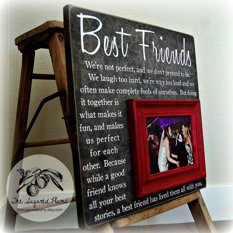 Best ideas about Gift Ideas Best Friend . Save or Pin Best Friend Gift Sister Gift Bridesmaid Gift Girlfriends Now.