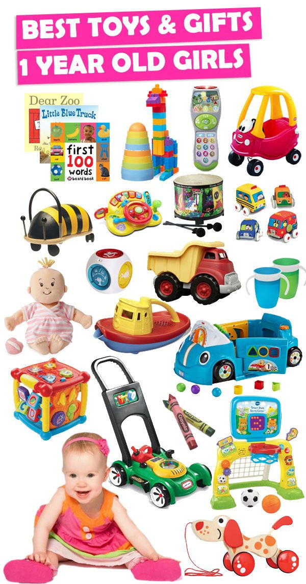 Best ideas about Gift Ideas For 1 Year Old Baby Girl . Save or Pin Best Gifts And Toys For 1 Year Old Girls Now.