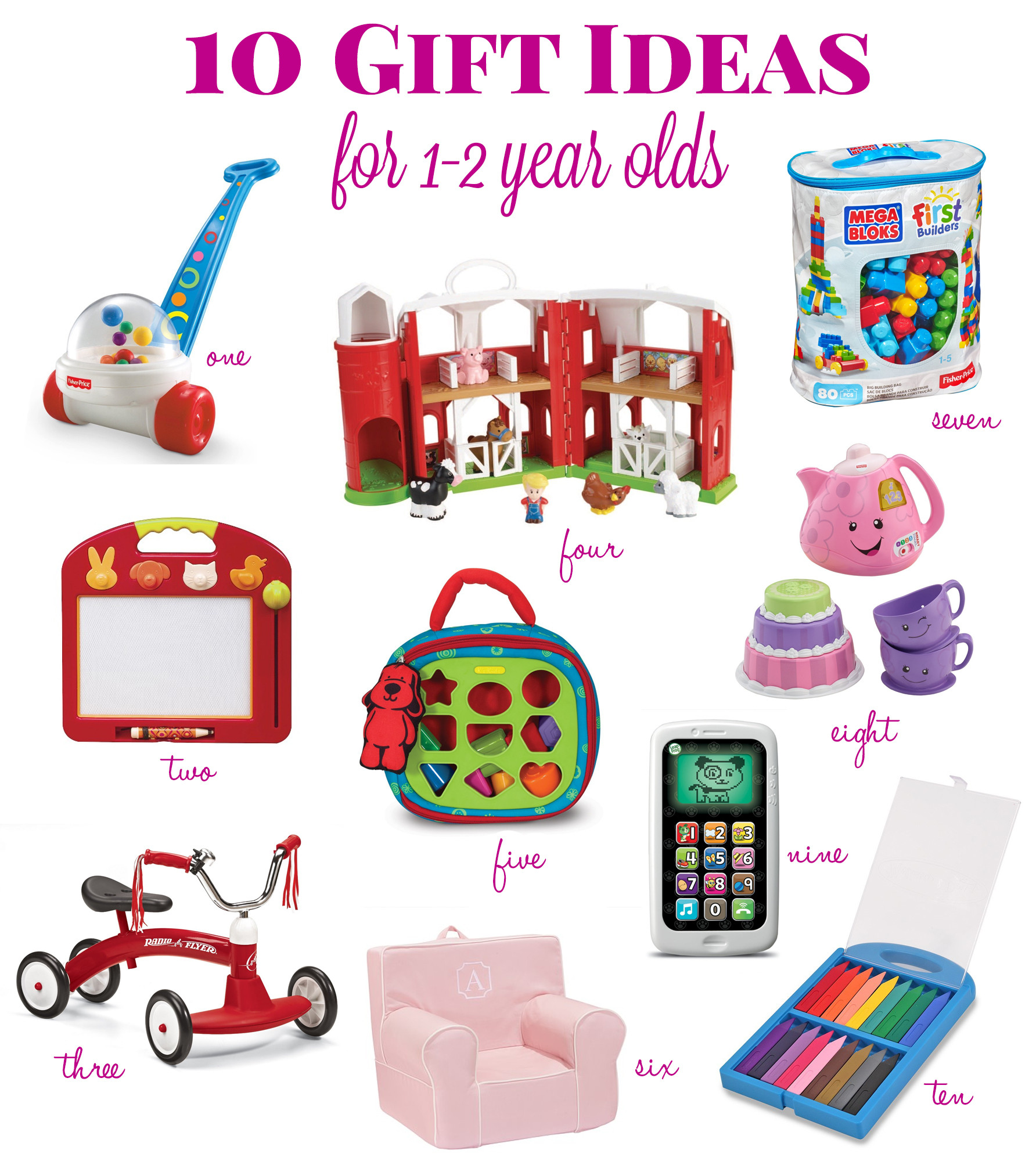 Best ideas about Gift Ideas For 1 Year Old . Save or Pin Gift Ideas for a 1 Year Old Life s Tidbits Now.