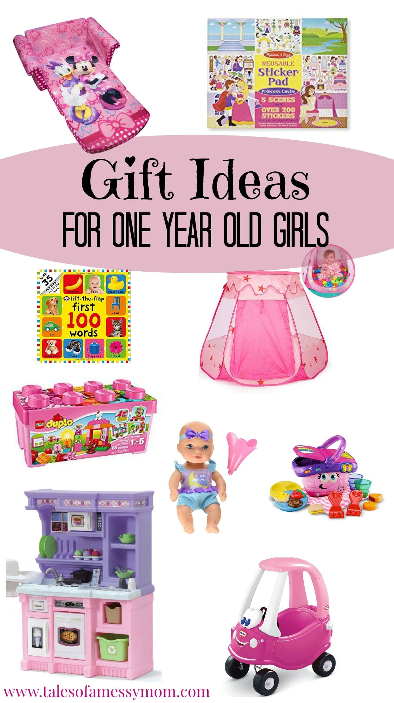 Best ideas about Gift Ideas For 1 Year Old . Save or Pin Gift Ideas for e Year Old Girls Tales of a Messy Mom Now.