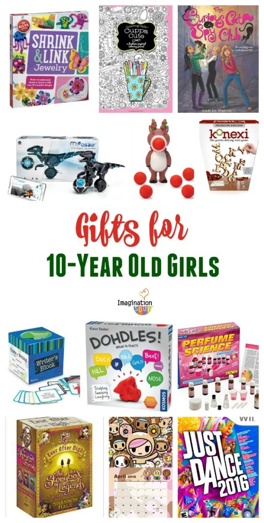 Best ideas about Gift Ideas For 10 Year Old . Save or Pin Gifts for 10 Year Old Girls Now.