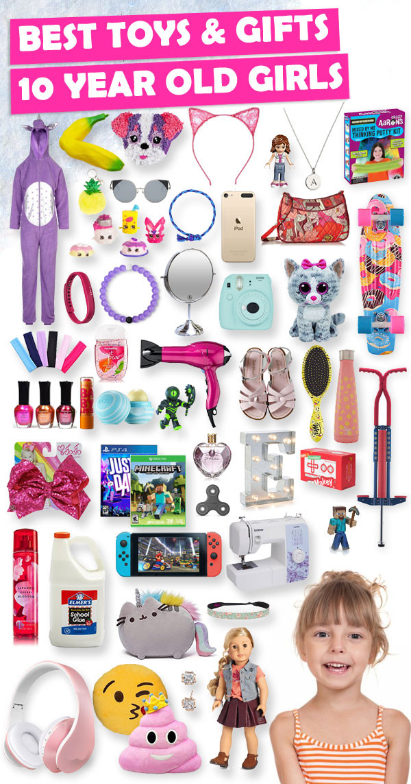 Best ideas about Gift Ideas For 10 Year Old . Save or Pin Best Gifts For 10 Year Old Girls 2018 Now.