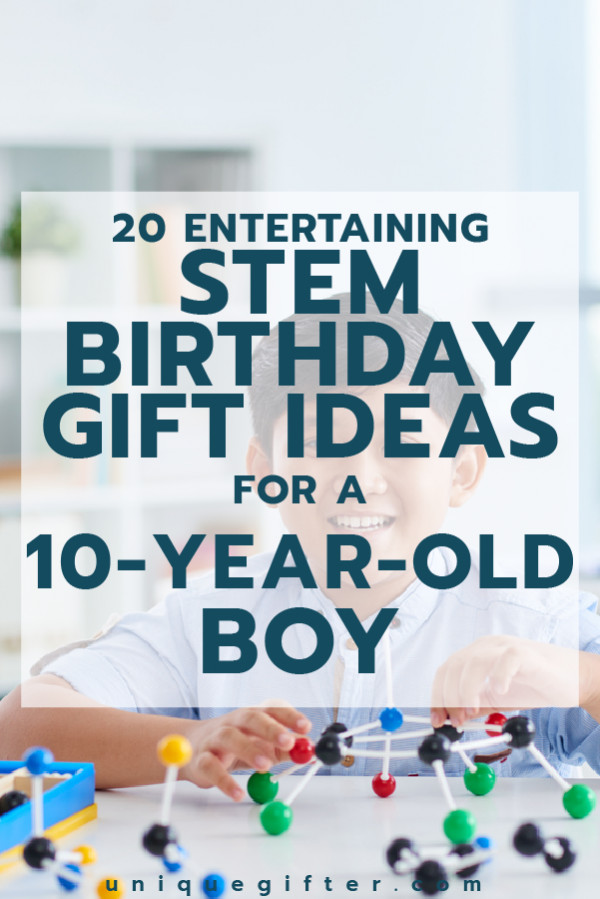 Best ideas about Gift Ideas For 10 Yr Old Boy . Save or Pin 20 STEM Birthday Gift Ideas for a 10 Year Old Boy Unique Now.
