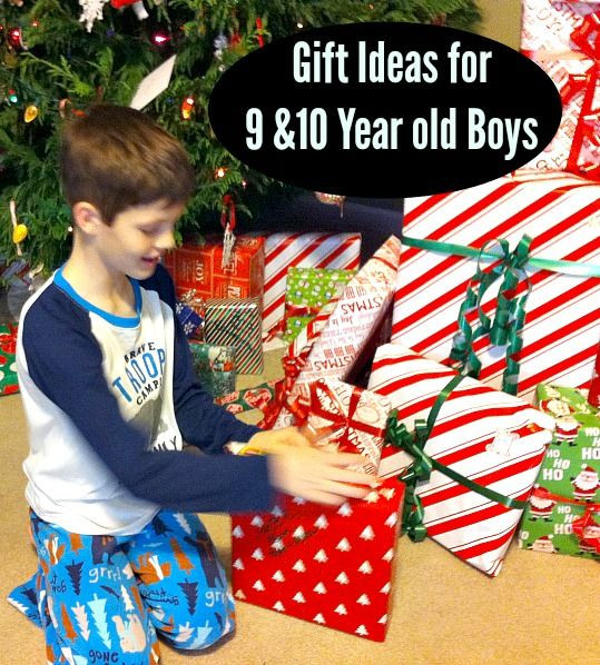 Best ideas about Gift Ideas For 10 Yr Old Boy . Save or Pin t ideas for 9 & 10 year old boys Now.