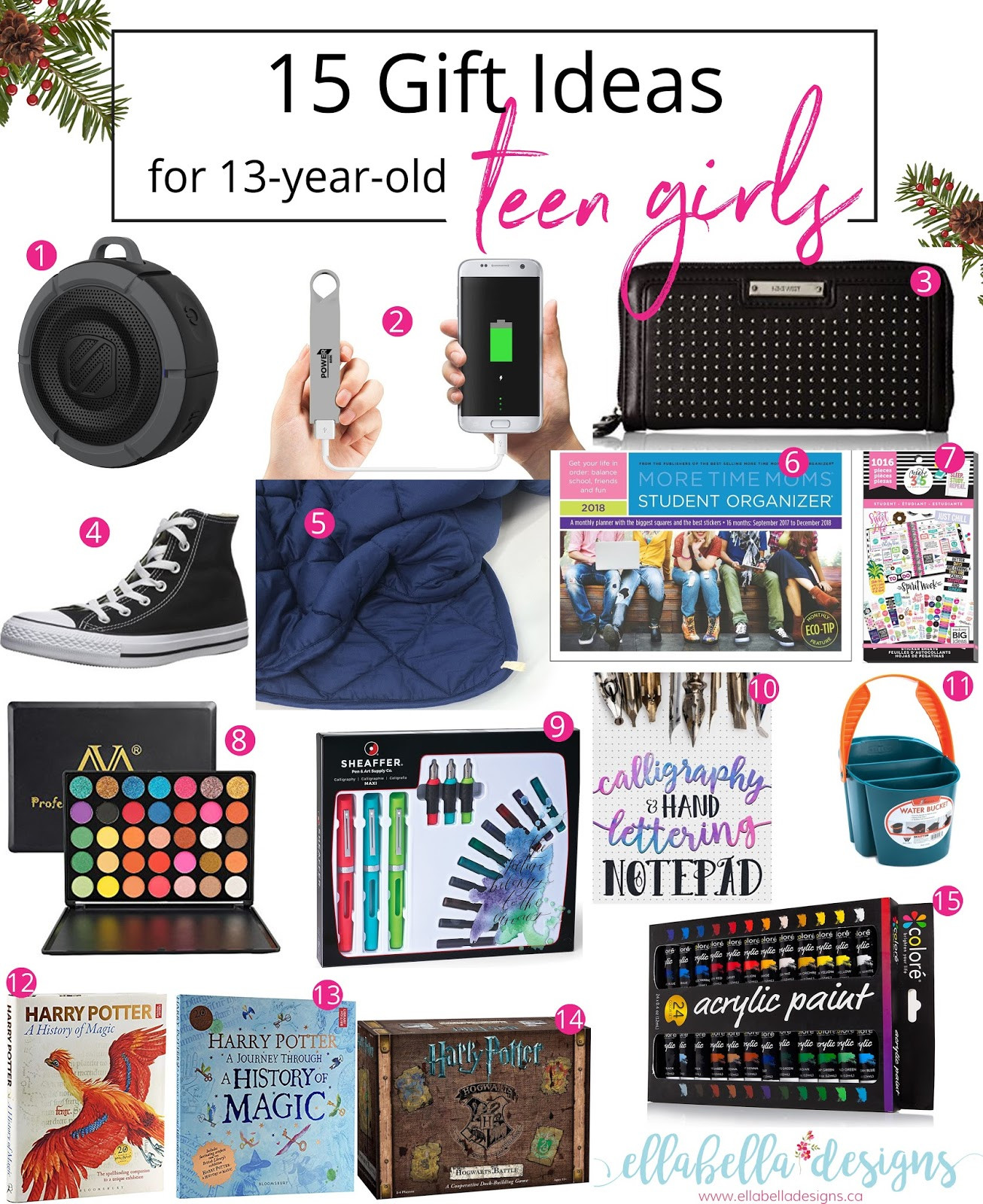 Best ideas about Gift Ideas For 13 Year Old Daughter . Save or Pin Ellabella Designs 15 Gift Ideas for 13 year old Teen Now.