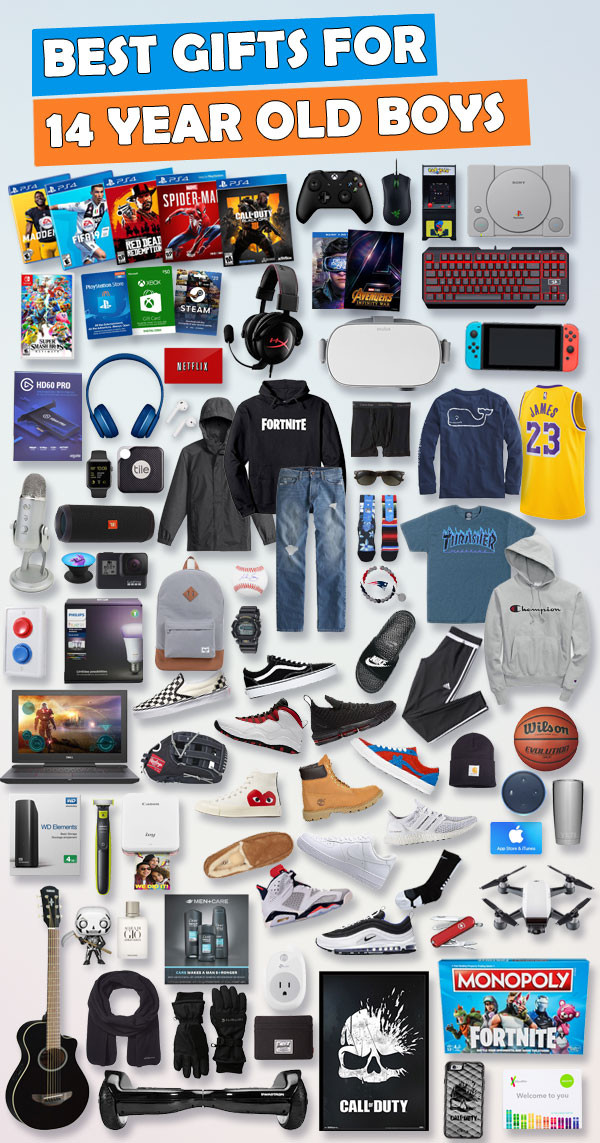 Best ideas about Gift Ideas For 14 Year Old Boy . Save or Pin Gifts For 14 Year Old Boys [Over 150 Gifts ] Now.