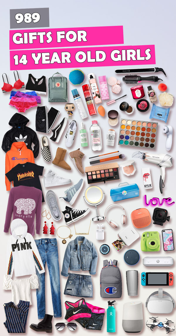 Best ideas about Gift Ideas For 14 Years Old Girl . Save or Pin Gifts for 14 Year Old Girls [Awesome Gift List] Best Now.