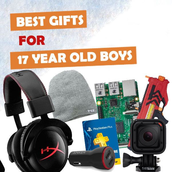 Best ideas about Gift Ideas For 17 Year Old Boy . Save or Pin 7 best Gifts For Teen Guys images on Pinterest Now.