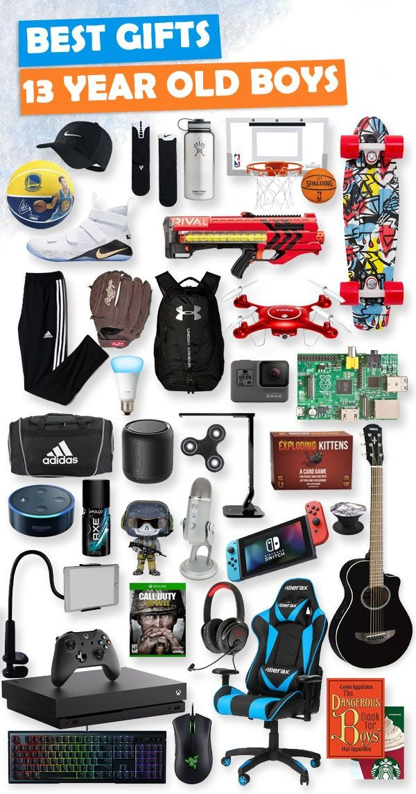 Best ideas about Gift Ideas For 18 Year Old Boy . Save or Pin Christmas Presents For 13 Year Old Boy Now.