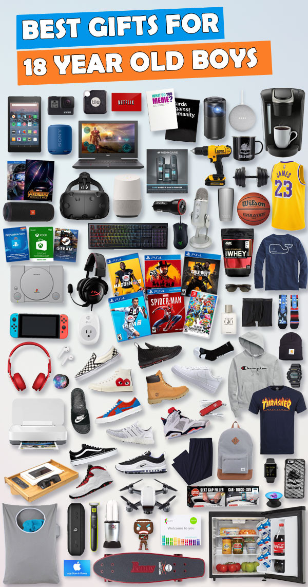 Best ideas about Gift Ideas For 18 Year Old Boy . Save or Pin Gifts For 18 Year Old Boys [ prehensive List] Gifts Now.