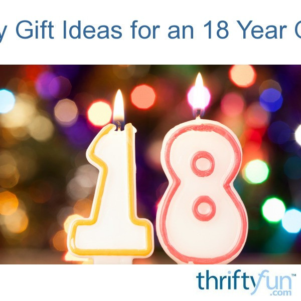 Best ideas about Gift Ideas For 18 Year Old Boy . Save or Pin Birthday Gift Ideas for an 18 Year Old Male Now.