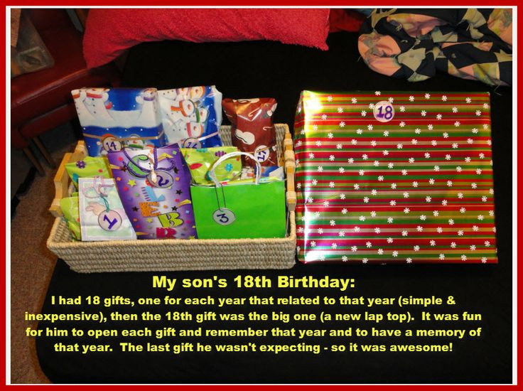 Best ideas about Gift Ideas For 18Th Birthday . Save or Pin 18th Birthday Gift Idea Now.