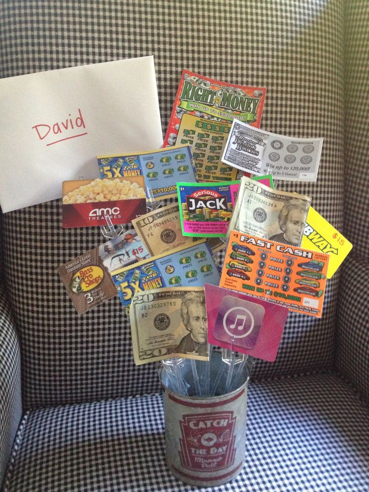 Best ideas about Gift Ideas For 18Th Birthday . Save or Pin Teen boys birthday t idea t cards lotto tickets Now.