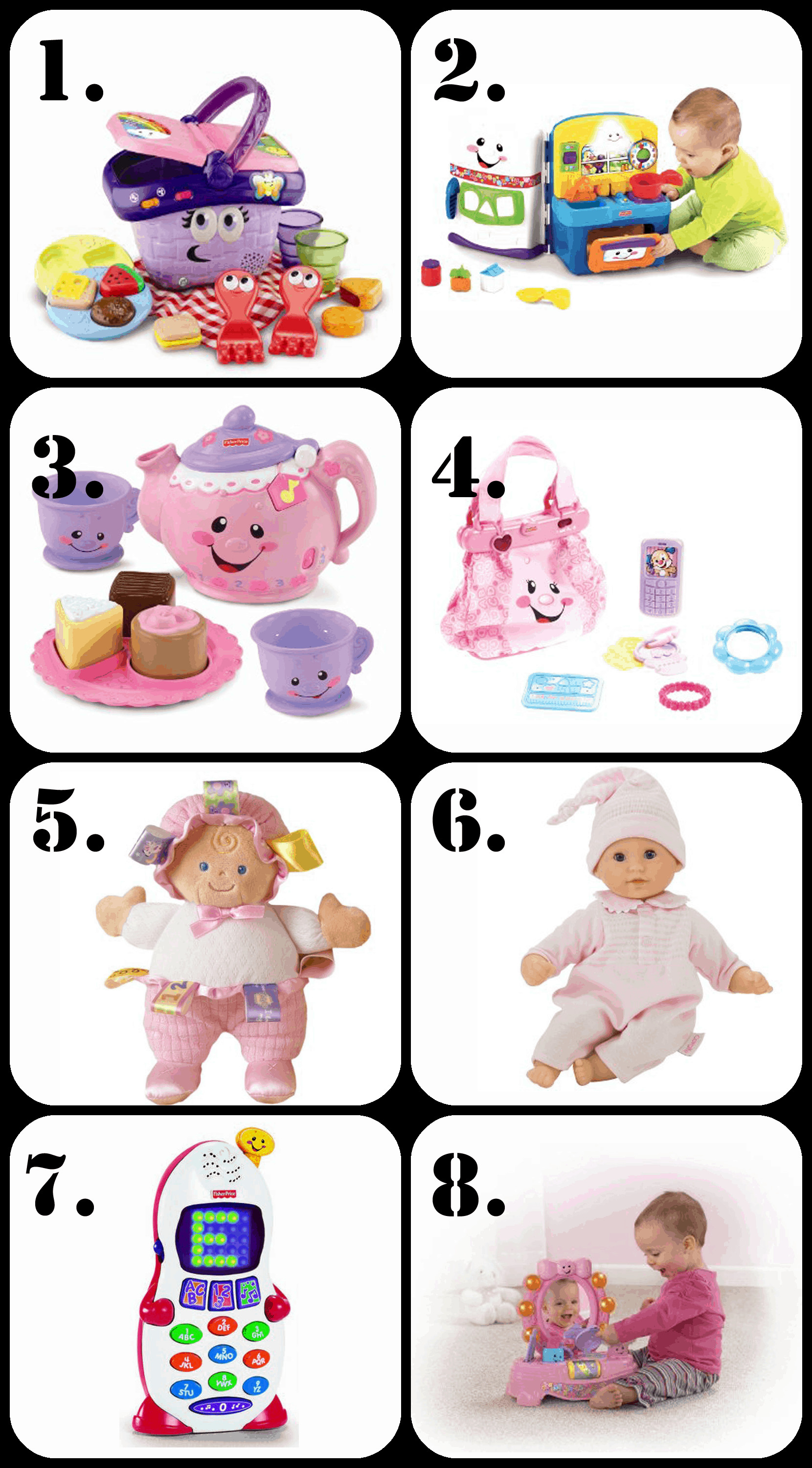 Best ideas about Gift Ideas For 2 Year Old Baby Girl . Save or Pin The Ultimate List of Gift Ideas for a 1 Year Old Girl Now.