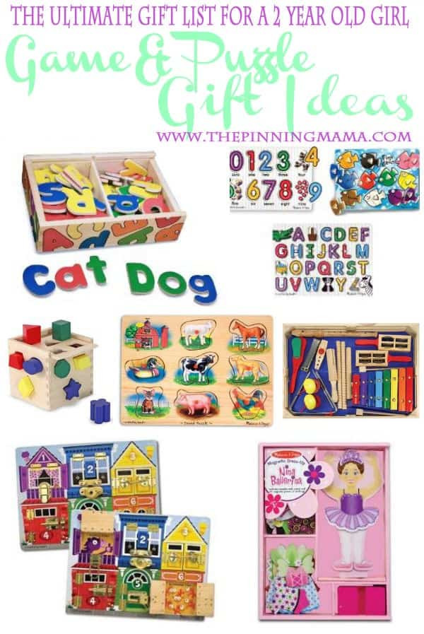 Best ideas about Gift Ideas For 2 Yr Old Girl . Save or Pin The Ultimate List of Gift Ideas for a 2 Year Old Girl Now.