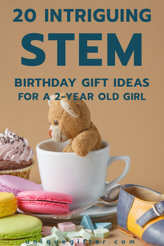 Best ideas about Gift Ideas For 2 Yr Old Girl . Save or Pin 20 STEM Birthday Gift Ideas for a 2 Year Old Girl Unique Now.
