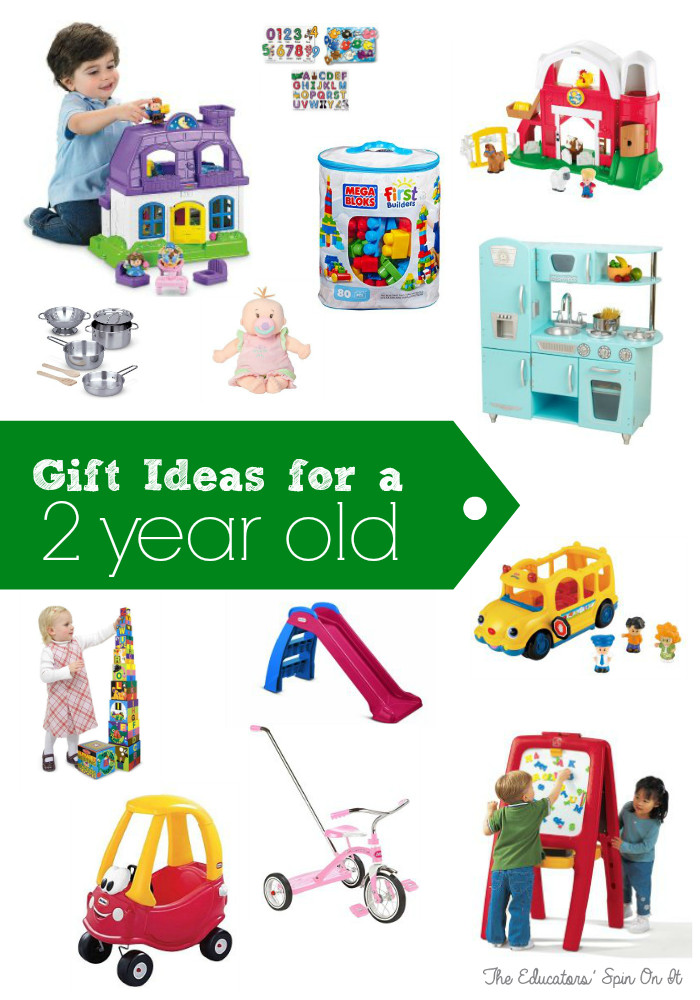 Best ideas about Gift Ideas For 2 Yr Old Girl . Save or Pin Birthday Gift Ideas for Two Years Old The Educators Now.