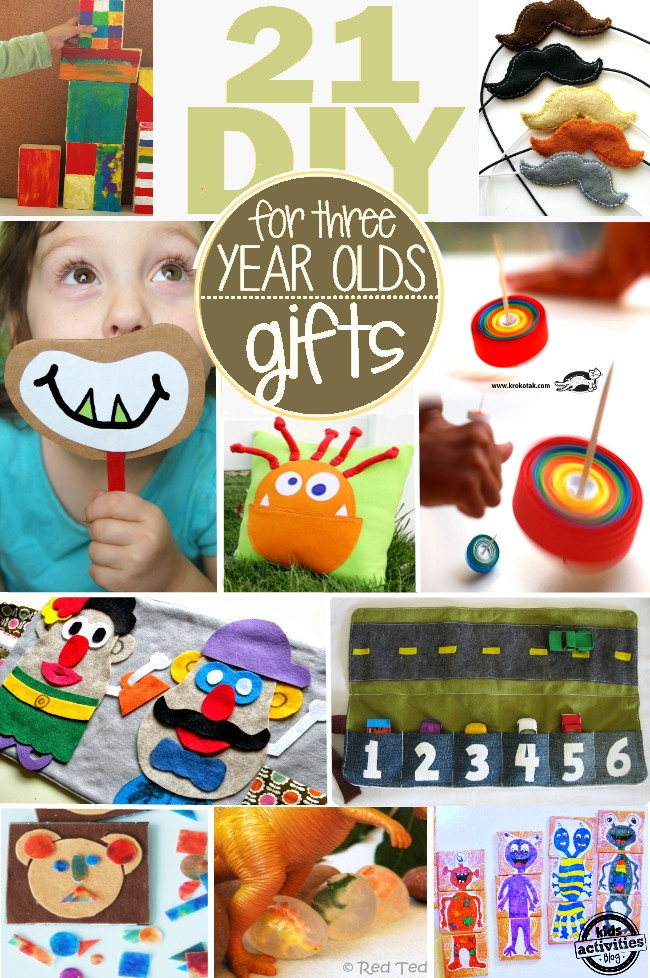 Best ideas about Gift Ideas For 21 Year Old Boy . Save or Pin 21 Homemade Gifts for 3 Year Olds Kids Activities Blog Now.