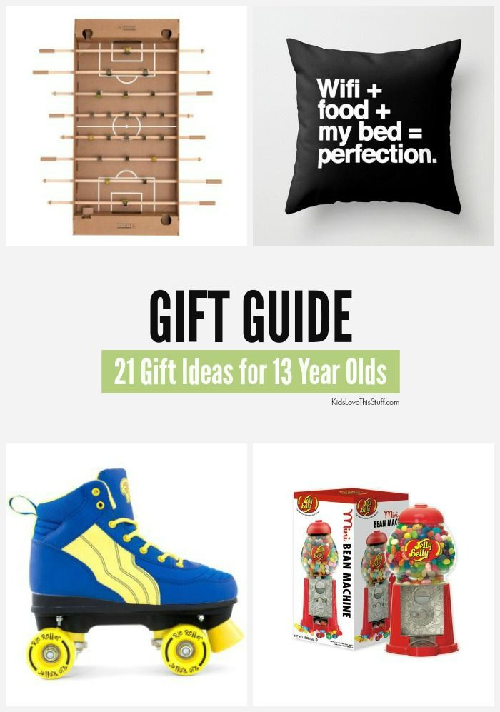 Best ideas about Gift Ideas For 21 Year Old Boy . Save or Pin 22 of the Best Birthday and Christmas Gift Ideas for 13 Now.