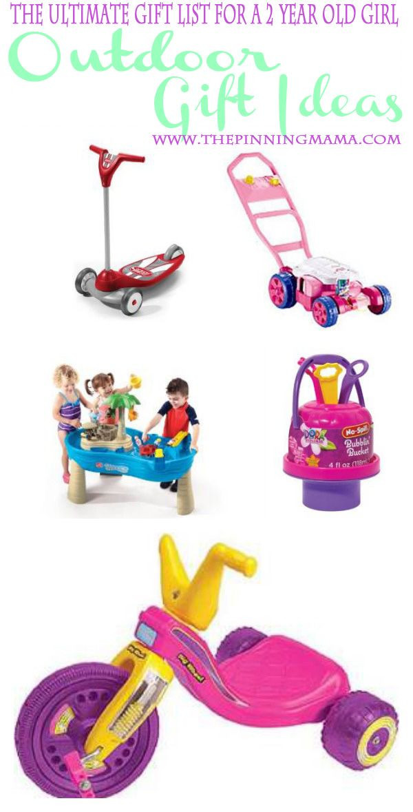 Best ideas about Gift Ideas For 3 Yr Old Girl . Save or Pin Outdoor Gift Ideas for a 2 Year Old Girl Now.