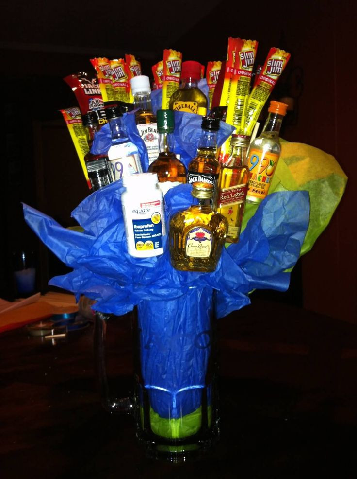 Best ideas about Gift Ideas For 30 Year Old Male . Save or Pin 1000 ideas about 21st Birthday Bouquet on Pinterest Now.