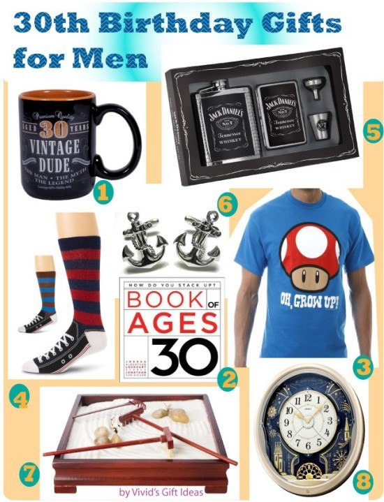 Best ideas about Gift Ideas For 30 Year Old Male . Save or Pin 30th Birthday Gifts for Men Now.