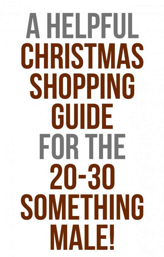 Best ideas about Gift Ideas For 30 Year Old Male . Save or Pin Christmas Shopping for the 20 30 Something Male Now.